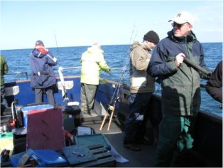 Boat Fishing, Sea Angling, Mistress, Tyne